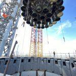 Moving Booster 4 to launch pad